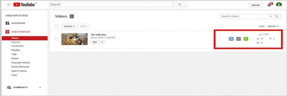 enjoy your YouTube channel earnings.