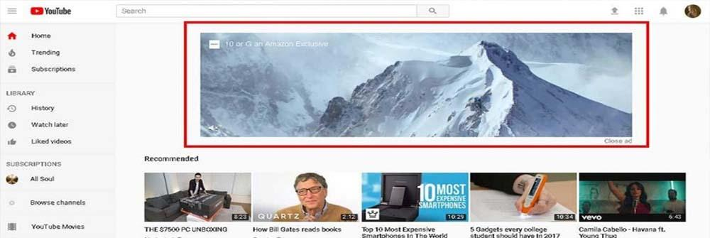 Sidebar Display Ads