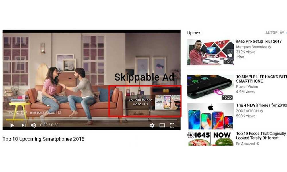 Skippable Video Ads